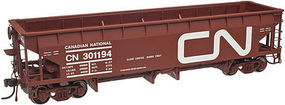 Atlas 70-Ton Hart Ballast Car Canadian National #301194 HO Scale Model Train Freight Car #20002820