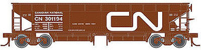 Atlas 70-Ton Hart Ballast Car 3-Pack Canadian National HO Scale Model Train Freight Car #20002822