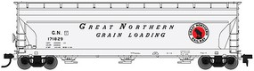 Atlas 4650 3-Bay Centerflow Covered Hopper GN HO Scale Model Train Freight Car #20002865