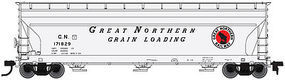Atlas ACF 4650 3-Bay Centerflow Covered Hopper GN HO Scale Model Train Freight Car #20002868