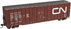 Atlas 50 Plug Door Boxcar Canadian National HO Scale Model Train Freight Car #20002902
