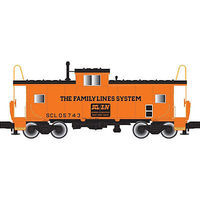 Atlas Extended-Vision Caboose Family Lines SCL #05756 HO Scale Model Train Freight Car #20003111