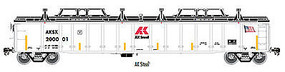 Atlas Gondola with Cover AK Stl #200001 HO Scale Model Train Freight Car #20003241