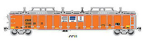 Gondola with Cover CSI #210245 HO Scale Model Train Freight Car #20003252