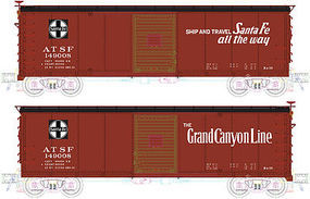 Atlas USRA Steel Boxcar ATSF #149149 HO Scale Model Train Freight Car #20003371