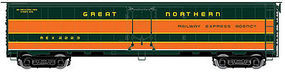 Atlas Steel Express Reefer Great Northern REX #2222 HO Scale Model Train Freight Car #20003399