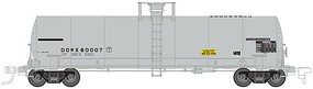 17,360 gallon Tank Car DOW #80000 HO Scale Model Train Freight Car #20003447