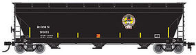 Atlas 4650 Covered Hopper RBMN #9961 HO Scale Model Train Freight Car #20003467