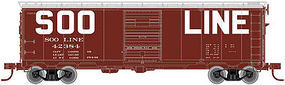 Atlas 1932 ARA Boxcar SOO Line #42204 HO Scale Model Train Freight Car #20003589