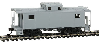Atlas NE-6 Caboose Undecorated NKP Style -- HO Scale Model Train Fregiht Car -- #20003598