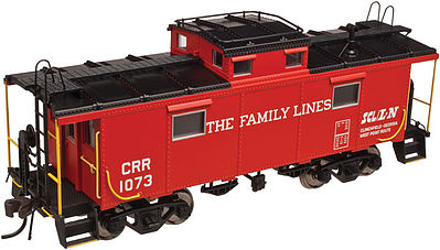 Atlas NE-6 Caboose Family Lines 1080 -- HO Scale Model Train Freight Car -- #20003602