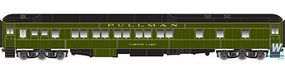 Atlas Heavyweight Pullman 10-1-1 Sleeper CB&QC Lake HO Scale Model Railroad Passenger Car #20003616