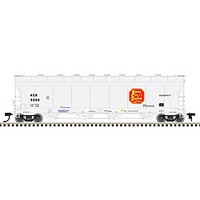 Atlas Covered Hopper Kansas City Southern #5000 HO Scale Model Train Freight Car #20003771