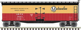 Atlas 40 Wood Reefer M Packing #72216 HO Scale Model Train Freight Car #20003809
