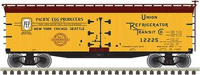 Atlas 40 Wood Reefer Pacific Cooperative #12242 HO Scale Model Train Freight Car #20003813