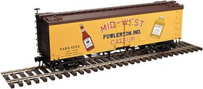 Atlas 36 Wood Reefer - Ready to Run - Master(R) Mid-West Catsup #4722