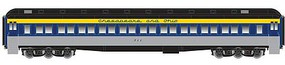 Atlas Heavyweight Paired-Window Coach - Ready to Run - Master(R) Chesapeake & Ohio 710 (gray, blue, yellow, black)