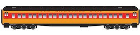 Atlas HO Heavyweight Paired Window Coach, MILW #3312