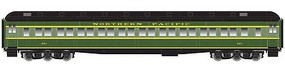 Atlas Heavyweight Paired-Window Coach - Ready to Run - Master(R) Northern Pacific 627 (2-Tone Green, yellow, black)