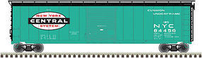 Atlas 50 Single-Door Boxcar New York Central #84441 HO Scale Model Train Freight Car #20013001