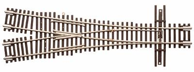 Atlas Code 55 3.5 Wye Turnout N Scale Nickel Silver Model Train Track #2057