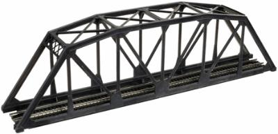 Atlas Truss Bridge Kit for Trains - Black Code 55 N Scale Model Railroad Bridge #2070