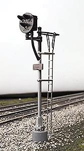 Atlas Type ''G'' 3-Light Signal - Single Target -- HO Scale Model Railroad Operating Accessory -- #235