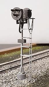 Atlas Type G 3-Light Signal Bi-Directional Single Targets HO Scale Model Railroad Accessory #239