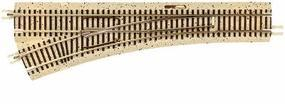 True-Track Roadbed 12.5 Left Turnout N Scale Nickel Silver Model Train Track #2430