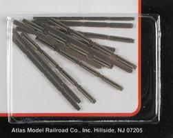 Atlas (bulk of 6) Code 80 Rail Joiners (48) N Scale Nickel Silver Model Train Track #2535