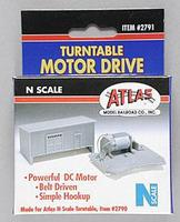 Atlas Turntable Motor Drive Unit N Scale Nickel Silver Model Train Track #2791