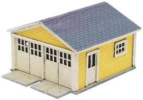 Atlas Two Car Garage for Kate's Colonial Home N Scale Model Railroad Building #2880