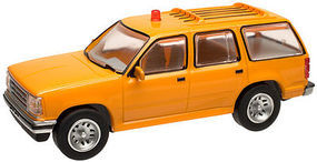 Atlas 1993 Ford(R) Explorer w/Rotary Beacon Painted HO Scale Model Railroad Vehicle #30000071