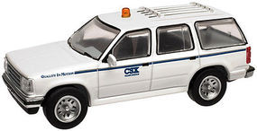 Atlas 1996 Ford(R) Explorer w/Rotary Beacon CSX HO Scale Model Railroad Vehicle #30000077