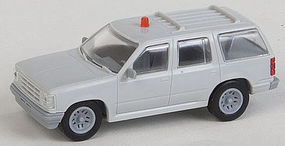 Atlas 1996 Ford(R) Explorer w/Rotary Beacon Undecorated HO Scale Model Railroad Vehicle #30000080