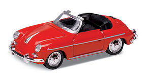Atlas Porsche 356B Red HO Scale Model Railroad Roadway Vehicle #30000097