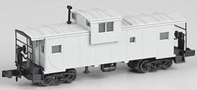 Atlas Extended-Vision Caboose Undecorated N Scale Model Train Freight Car #30200