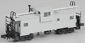 Atlas Extended-Vision Caboose Undecorated N Scale Model Train Freight Car #30520