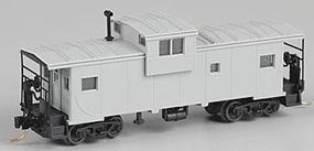 Atlas Extended Vision Caboose Undecorated N Scale Model Train Freight Car #30528