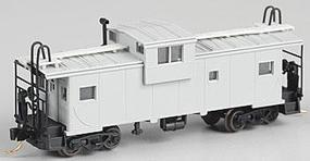 Atlas Extended Vision Caboose Undecorated N Scale Model Train Freight Car #30529