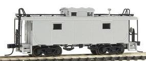 Atlas NE-6 Caboose Side Windows Closer to Cupola Undecorated N Scale Model Train Freight Car #33400