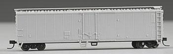 Atlas 50' Mechanical Reefer - Undecorated -- N Scale Model Train Freight Car -- #3650