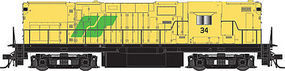 Atlas C420 Roberval & Saguenay 34 N Scale Model Train Diesel Locomotive #40000359