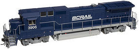Atlas GE Dash 8-40B DC BC Rail #3906 N Scale Model Train Diesel Locomotive #40000474