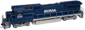 Atlas Dash 8-40B BC Rail 3906 W/dcc N Scale Model Train Diesel Locomotive #40000499