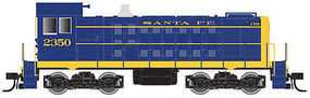 Atlas Alco S2 Santa Fe #2367 (blue, yellow) N Scale Model Train Diesel Locomotive #40000709
