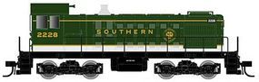 Atlas Alco S2 Southern Railway #2228 (green, white) N Scale Model Train Diesel Locomotive #40000710