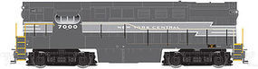 Atlas FM H16-44 Early Body/Cab New York Central N Scale Model Train Diesel Locomotive #40001860