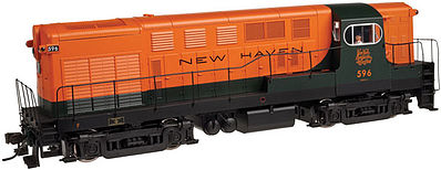 Atlas FM H16-44 Early Body/Cab New Haven -- N Scale Model Train Diesel Locomotive -- #40001880