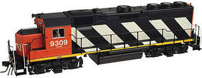 Atlas EMD GP40 w/Dynamic Brakes Canadian National N Scale Model Train Diesel Locomotive #40001904